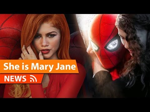 Zendaya Confirmed as Mary Jane SpiderMan Far From Home