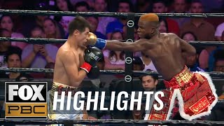 Chris Colbert destroys Miguel Beltran Jr. with 1st round knockout | HIGHLIGHTS | PBC ON FOX