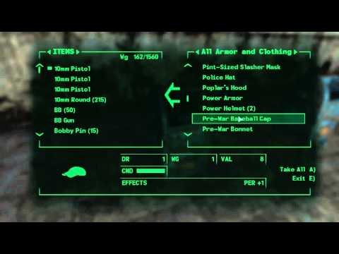 Fallout 3 Developer Room Cheat