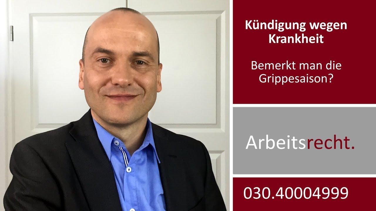 Kündigung Wegen Krankheit Herr Bredereck Merken Sie Die
