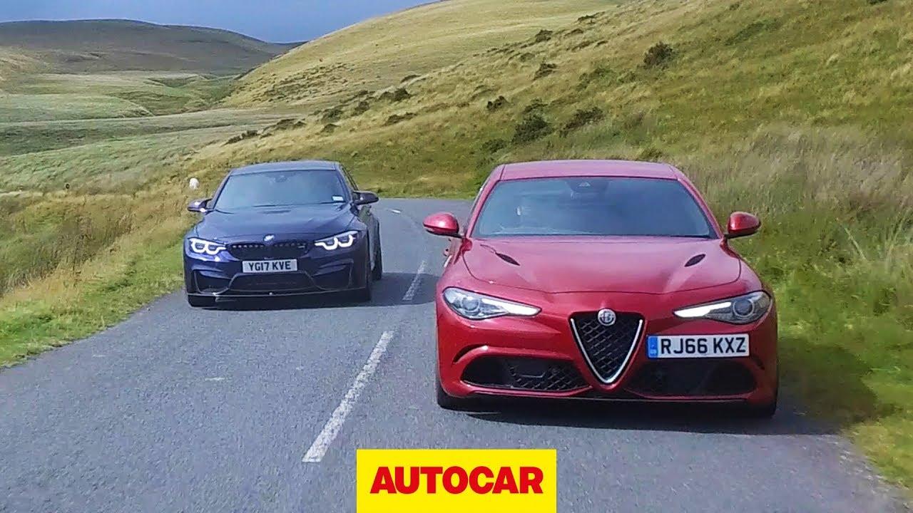 Alfa Romeo Giulia Quadrifoglio Vs 2018 Bmw M3 Competition Pack
