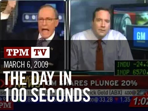 March 6, 2009: The Day in 100 Seconds