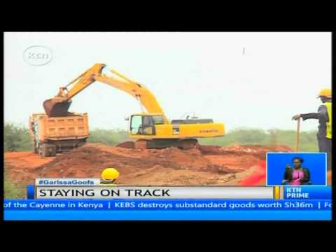 China Road and Bridge Corporation confident of beating its deadline  for SGR completion