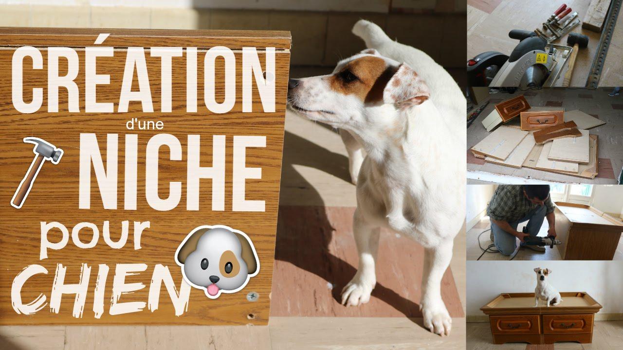 Lit Pour Chien Palette on fabrique un panier pour chien !