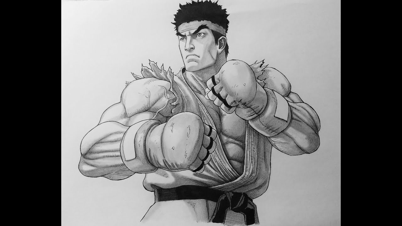 Drawing Ryu Youtube