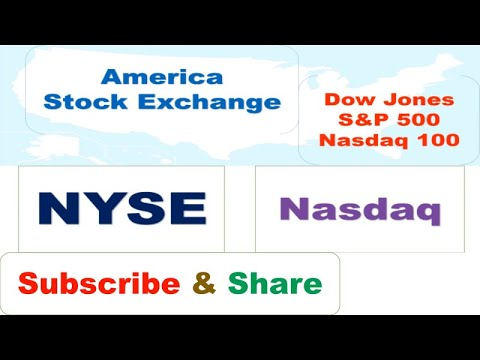 World (U.S.) Stock Exchanges- NYSE & NASDAQ | Difference Between NYSE AND NASDAQ