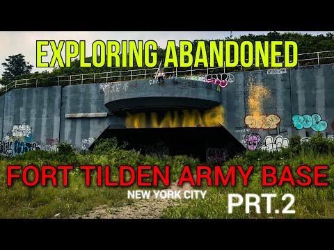 EXPLORING ABANDONED FORT TILDEN ARMY BASE Pt.2