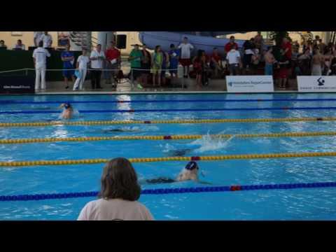 Kval damer 200m medley Nordiska Mästerskapen Kolding,