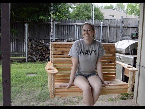 Build a Porch Swing!