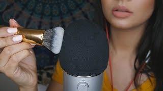ASMR Mic Brushing, Scratching & Fast Tapping ||  TenaASMR ♡