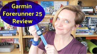 REVIEW: GARMIN FORERUNNER 25 GPS WATCH