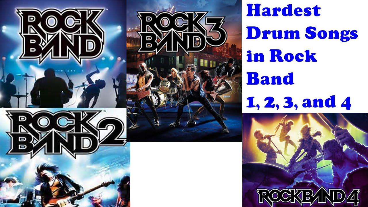 Images of Rock Band Song List - #rock-cafe