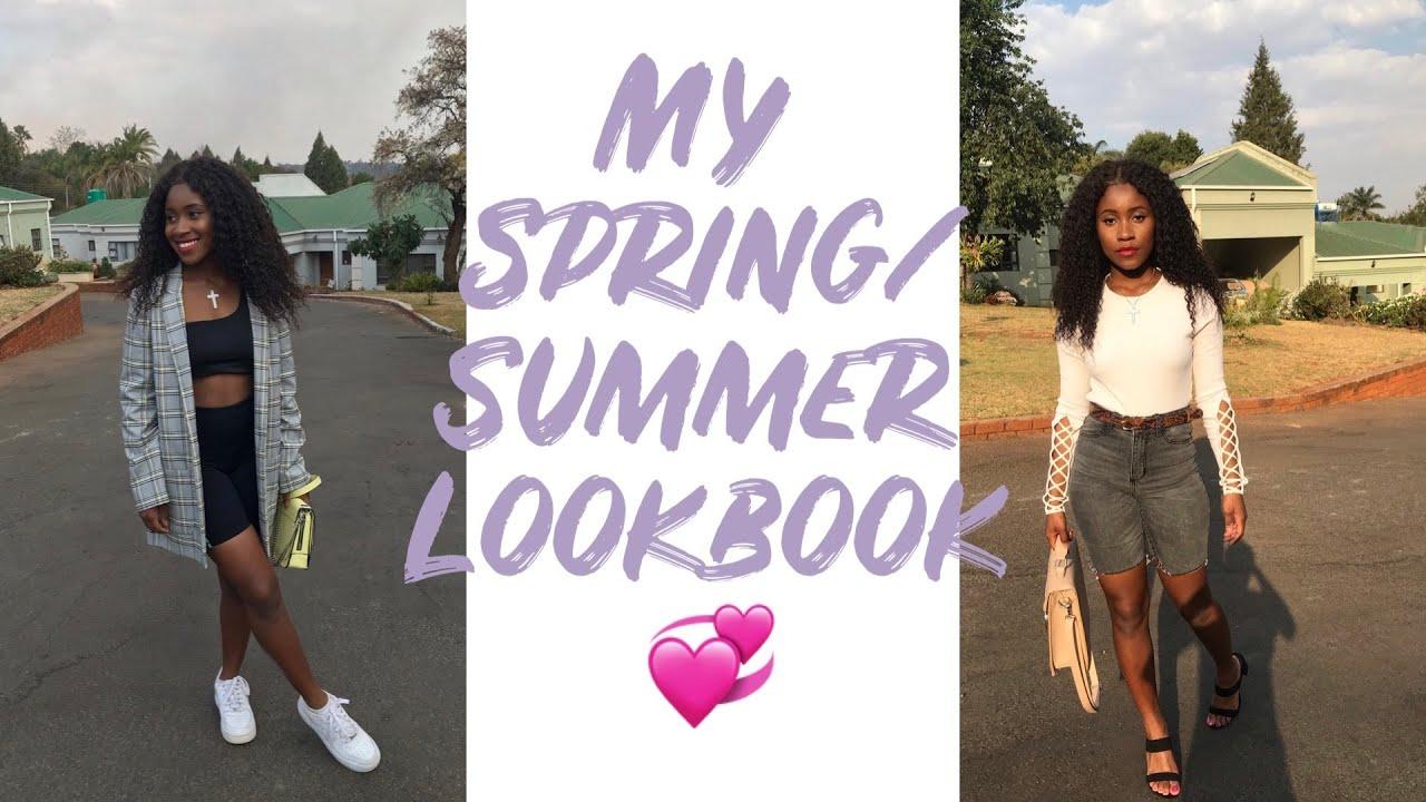 MY SPRING/SUMMER LOOKBOOK   AFRICAN YOUTUBER   JOELLAMAZVITA 2