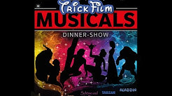 Best of Trickfilm Musicals Dinner Show - Musicaldinner.bayern