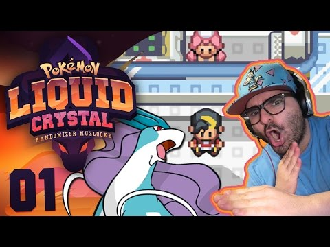 "Pokemon Liquid Crystal Randomized Nuzlocke W/ Original151 EP 01 - ""NEW GAME... SAME PROBLEMS!"""