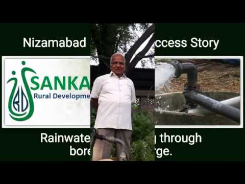 Rain water harvesting with Bore well recharge Rural Innovation