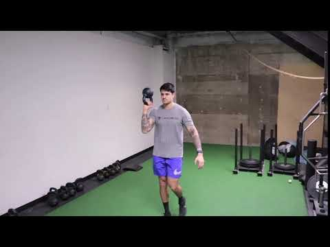 1 Arm Bottom Up KB 90/90 Carry