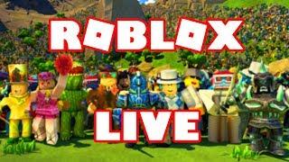 ROBLOX FUN - COME AND JOIN THE FUN - SATURDAY LIVE STREAM