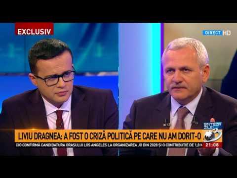 Liviu Dragnea: Sunt oameni care spun că Sorin Grindeanu nu se prea ocupa de guvernare