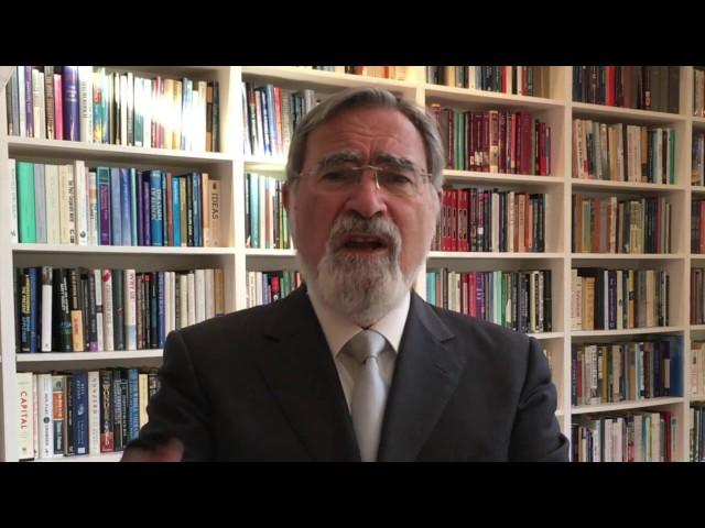 Rabbi Sacks on the Holocaust & importance of remembrance