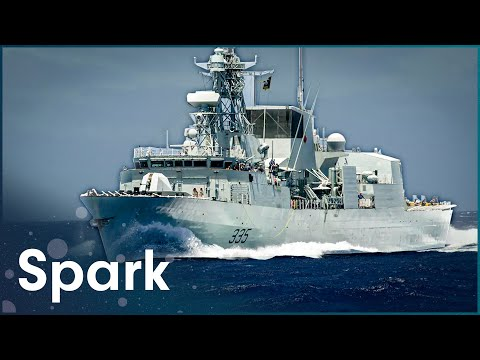 Maintaining A Canadian Navy Warship | Warships | Spark