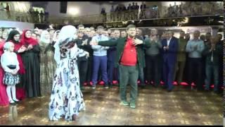 Свадьба Нажуда Гучигова и Луизы Гойлабиевой. Видео Рамзана Кадырова