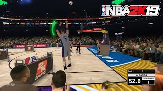 NBA 2K19 - All Star Weekend : 3 Point Contest ( My Career/My Player Gameplay )