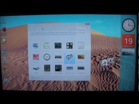 Enable Gadgets In Windows 8