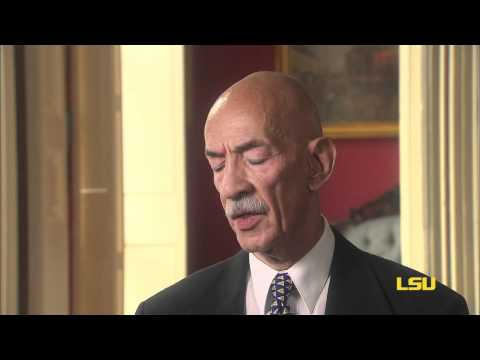 A. P. Tureaud Jr. -  Deciding to Attend LSU (Video 1 of 5)