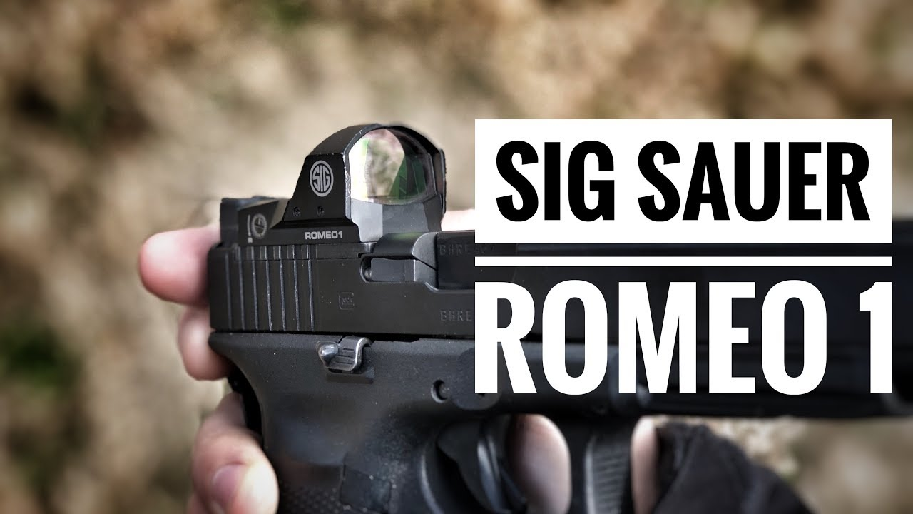 Sig Sauer Romeo 1 - 2,000 round review - A decent dot making in roads in  competition shooting