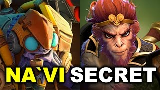 NAVI vs SECRET - Amazing Fight! - DreamLeague 7 DOTA 2