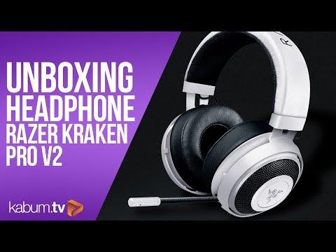 Headset KRAKEN PRO V2 Da Razer - Feat. Th3darkness | KaBuM!