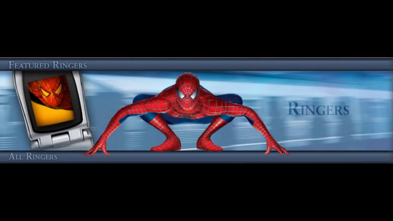 Рингтон человек паук скачать