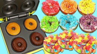 How to Make Delicious Rainbow Donuts Using the Baby Cakes Mini Donut Maker!