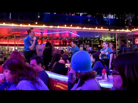 Ellen's Stardust Diner - Empire State of Mind cover