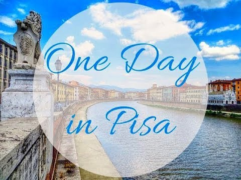 Pisa, Italy Vacation Trip   Leaning Tower Of Pisa - Day From Florence Vlog