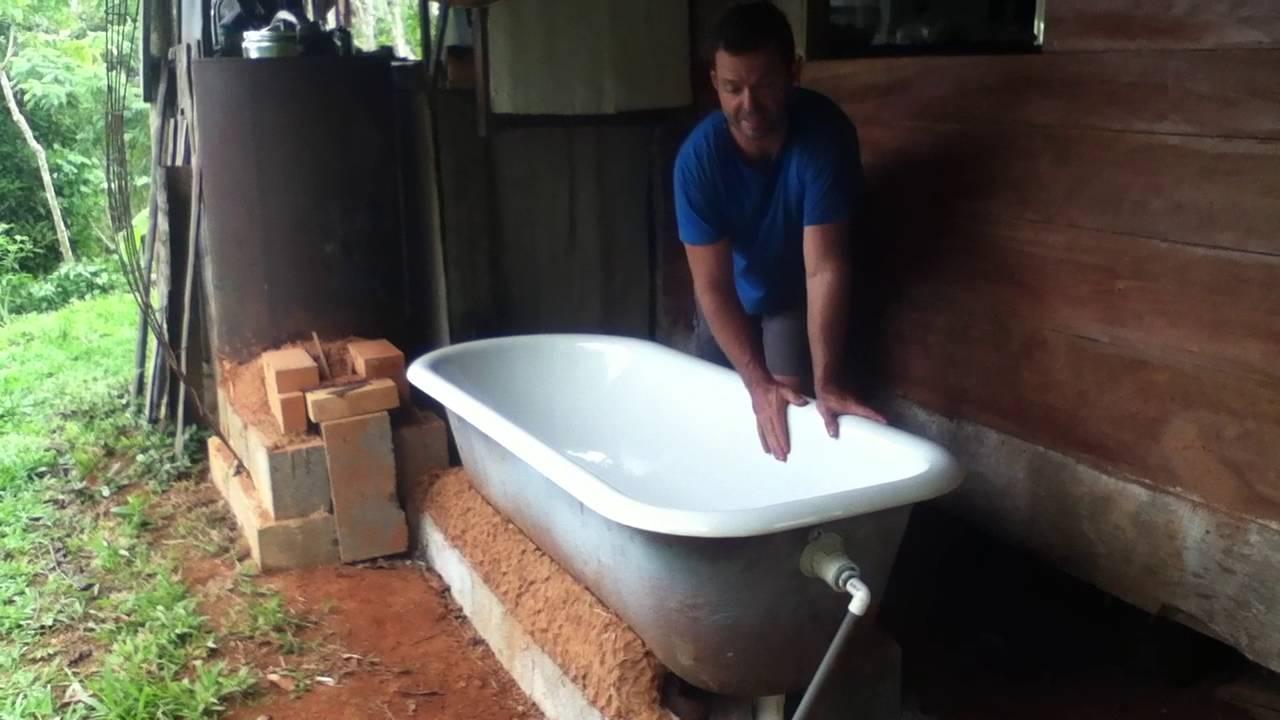 Tropical Bath Tube Heating pt. 2 - YouTube