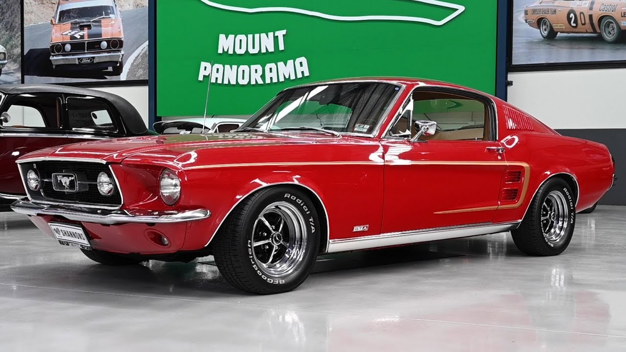 1967 ford mustang gta replica fastback lhd 2019 shannons melbourne summer classic auction