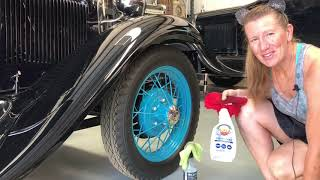 How to clean a Ford Model A