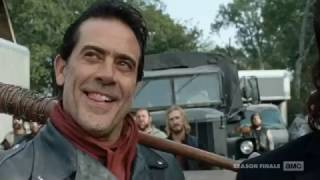 The Walking Dead 7x16 - Negan Arrives At Alexandria