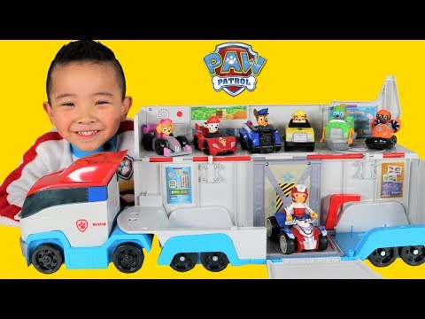 Thumbnail: Paw Patrol Patroller Toys Unboxing With Marshall Chase Skye Rocky Rubble Zuma Vehicles Ckn Toys
