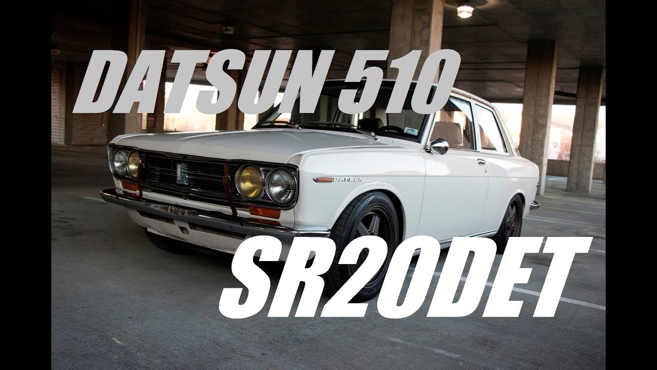 Datsun 510 SR20DET Swap Project