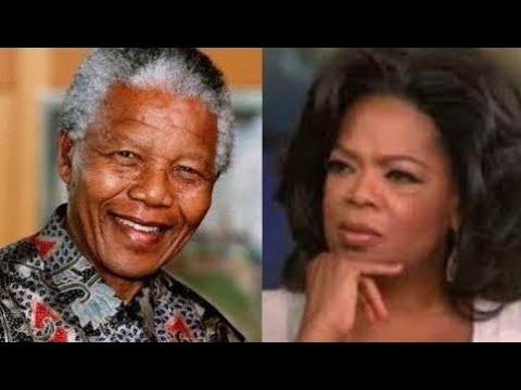 Nelson Mandela EDUCATES Oprah Winfrey On True Humility