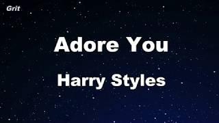 Download Lagu Karaoke Adore You - Harry Styles No Guide Melody Instrumental MP3