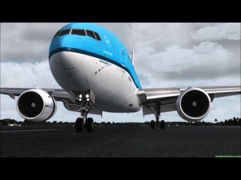 FSX Crosswind Landing Compilation [2017] HD