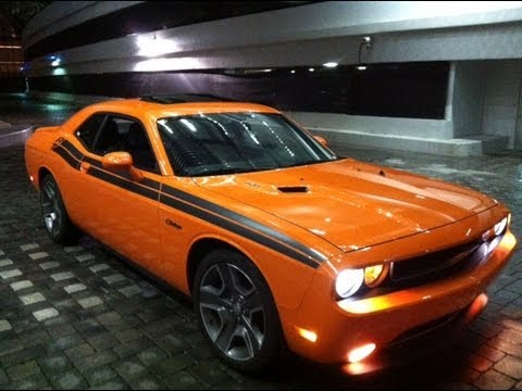Dodge Challenger R T Hemi V8 Youtube