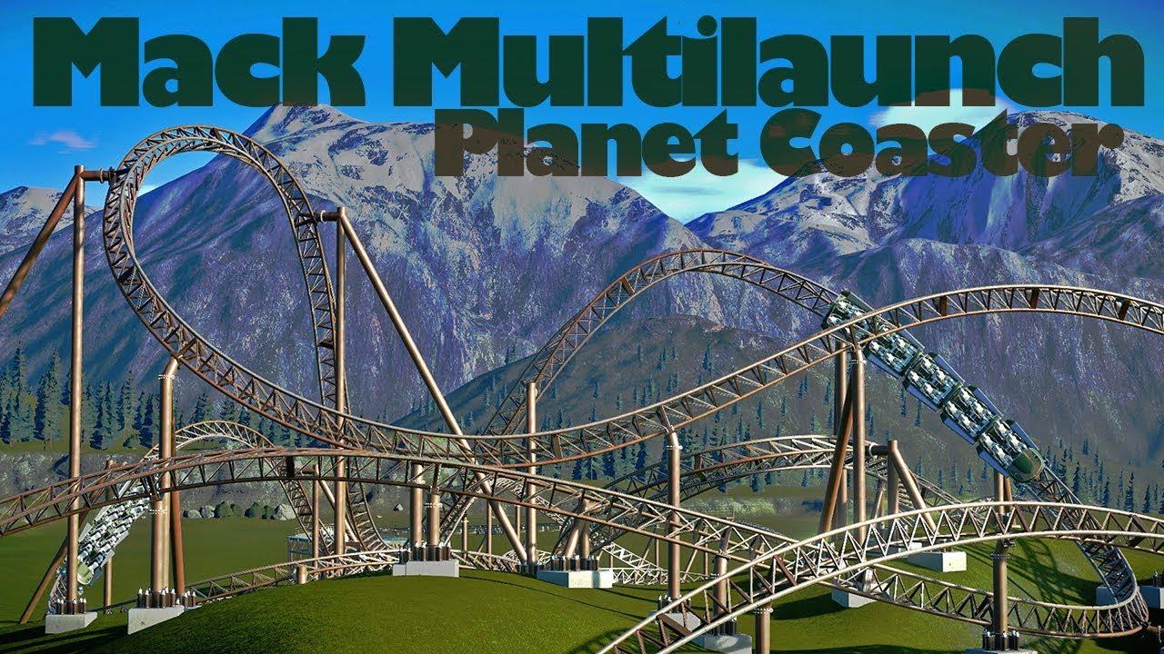 [WIP #1] Mack Terrain multilaunch - Planet Coaster