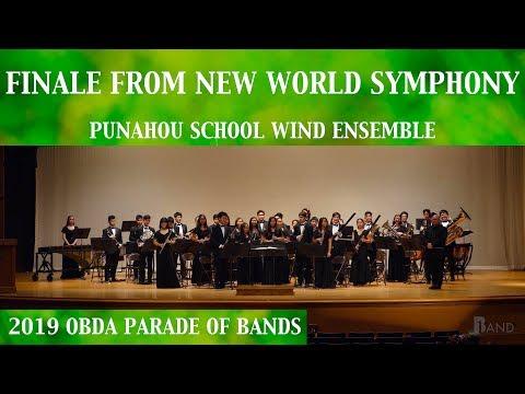 Finale from New World Symphony | Punahou School Wind Ensemble | 2019 OBDA POB