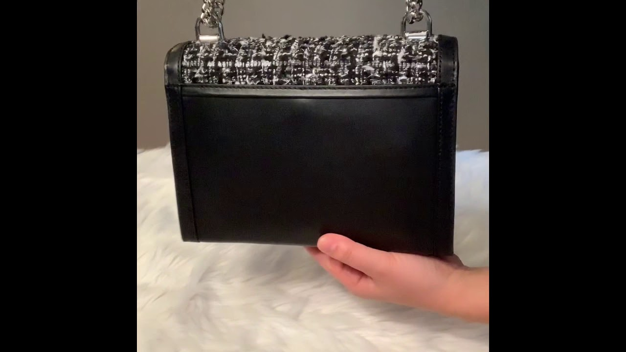 a6520dd24480 Michael Kors Whitney Large Tweed Convertible Shoulder Bag - YouTube