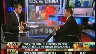 Benjamin Wey on FOX TV INTERVIEW -- China and U.S. Economic Status and Currency Issues - 9/29/10